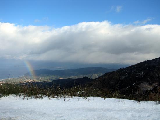 La neve,l'arcobaleno,il mare - Patti (3718 clic)