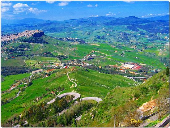 Veduta dal Castello di Lombardia - Enna (2116 clic)