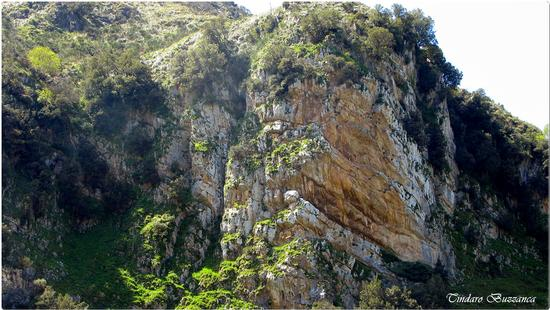 Le rocche rosse nei pressi  delle cascate del Catafurco - Galati mamertino (2325 clic)