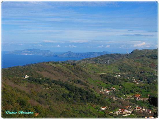 Lipari e Vulcano dai Monti Nebrodi (2191 clic)