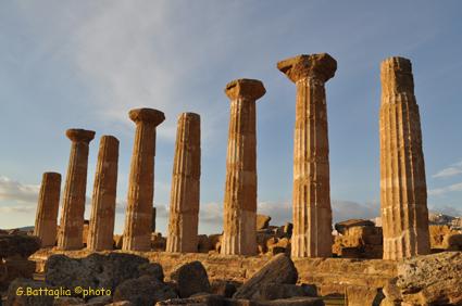 Tempio di Ercole - Agrigento (2096 clic)