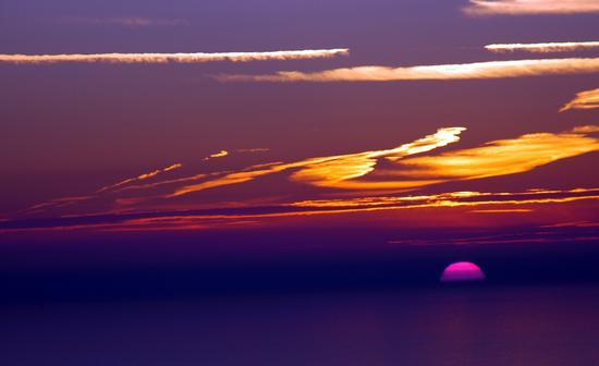 Tramonto - Monterosso al mare (5270 clic)