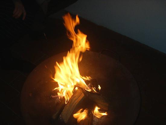 il fuoco - Abano terme (1651 clic)