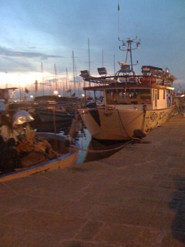 al porto - Muggia (1259 clic)