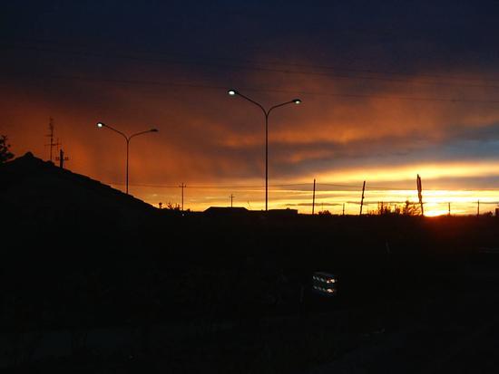 Cielo in tempesta - MILANO MARITTIMA - inserita il 02-Jan-12