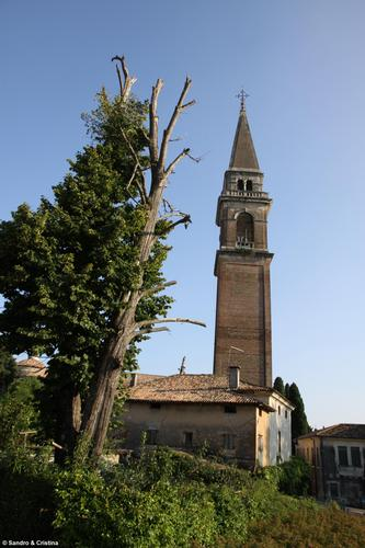 Montebelluna - Campanile della Chiesa di S. Maria in Colle (3667 clic)