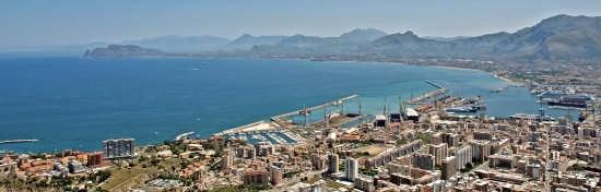il porto e S.Flavia - Palermo (3908 clic)