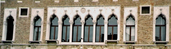 le finestre di palazzo Duodo - Venezia (2860 clic)