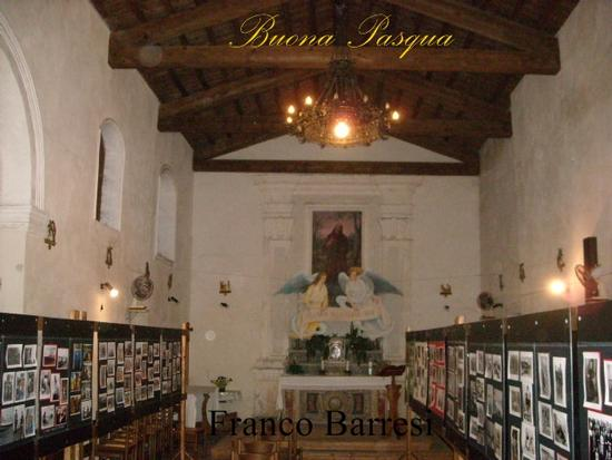 Nizza di Sicilia, interno Chiesa S.Francesco di Paola. (5263 clic)