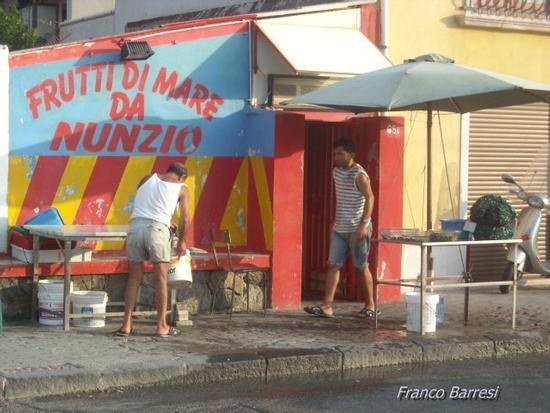 Venditori di cozze - Ganzirri (2835 clic)