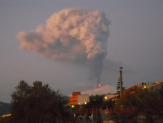 Etna, che spettacolo! - Nizza di sicilia (2164 clic)
