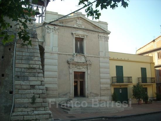 Nizza di Sicilia la Chiesa di S.Giovanni. (1957 clic)