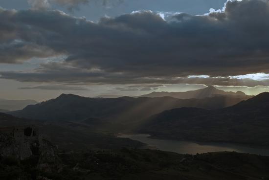 Il lago di Caccamo (2652 clic)