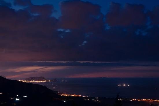 Vista verso Ustica - Termini imerese (2196 clic)