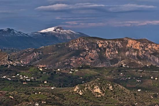 Neve in montagna - Termini imerese (2201 clic)