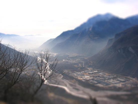 Nebbie sul Piave..al mattino - Longarone (2106 clic)