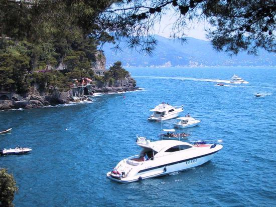 yatch a Portofino (2081 clic)