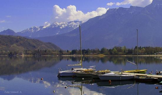 Barche sul lago - Caldonazzo (1349 clic)