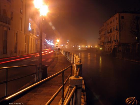 Treviso Luci nella nebbia (2494 clic)