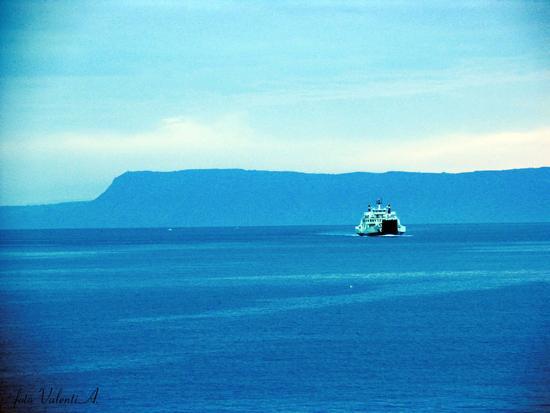Lo stretto al mattino - Messina (3335 clic)