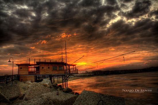 TRABOCCHI PESCARA al tramonto (10685 clic)
