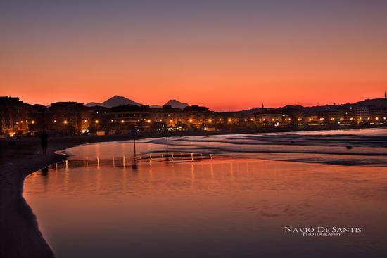 PESCARA tramonto (6029 clic)