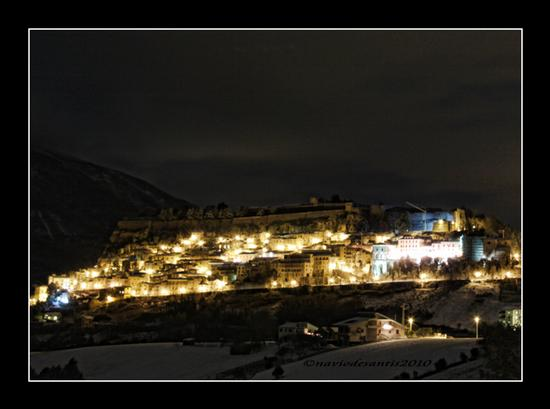 WHITE NIGHT - Civitella del tronto (1750 clic)