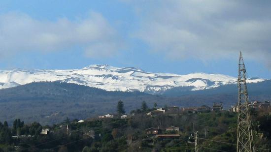 Etna,21 gennaio 2012 - Giardini naxos (2408 clic)