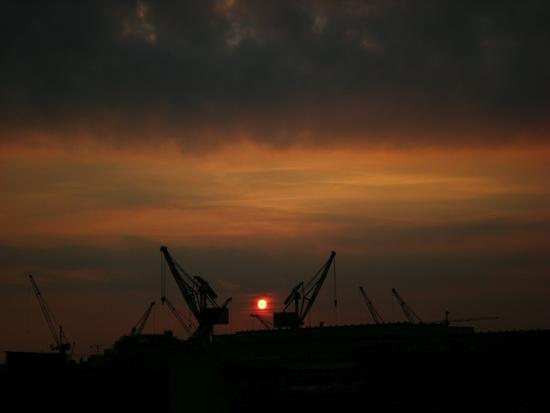 Cantieri navali Marghera - Venezia (599 clic)