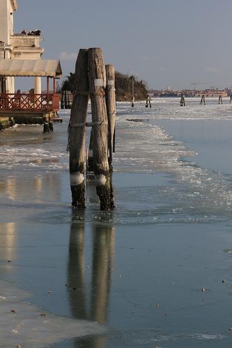 Ghiaccio in Laguna - VENEZIA - inserita il 22-Feb-12