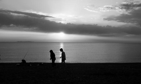Tramonto marino - Miramare (846 clic)