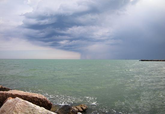 Eraclea Mare, brutto temporale (3656 clic)