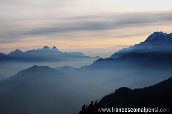 Tramonto sulle Dolomiti  - Rivamonte agordino (2296 clic)