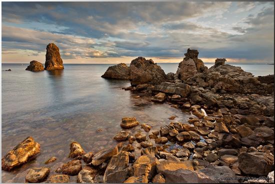 ..un tramonto dal paese dei malavoglia - Aci trezza (7517 clic)