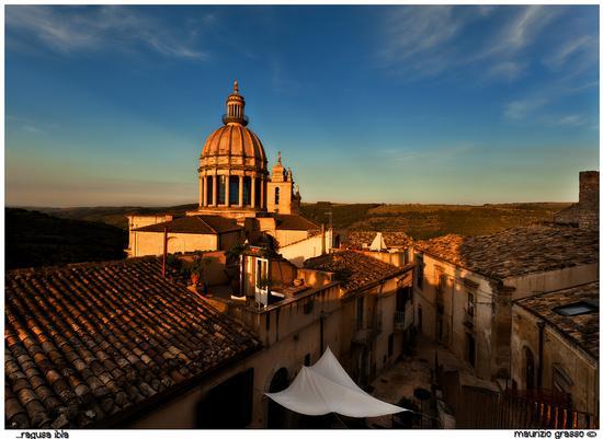 Duomo di Ibla..al tramonto - Ragusa (2465 clic)