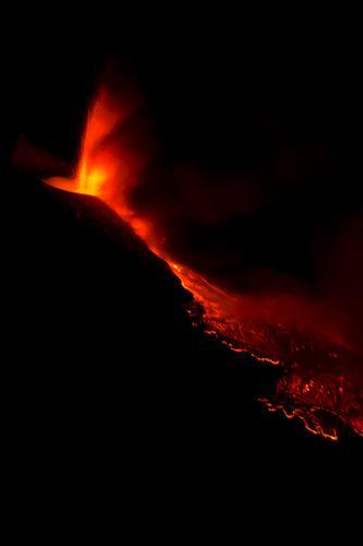 Etna eruzione 30 Luglio 2011 (551 clic)