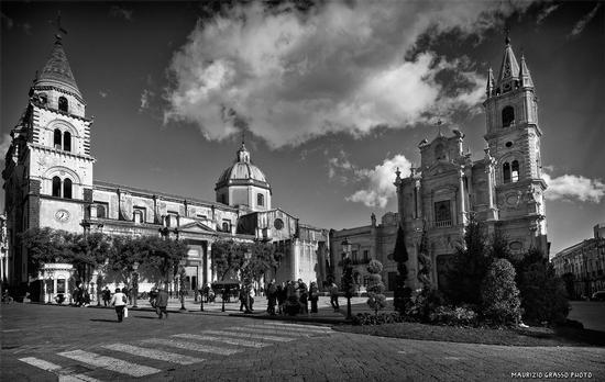 Piazza Duomo - ACIREALE - inserita il 30-Dec-11
