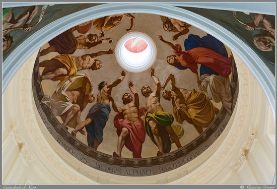 ...pitture interno cattedrale - Noto (4380 clic)