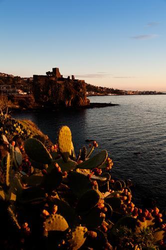 ....i primi colori del mattino - Aci castello (2394 clic)