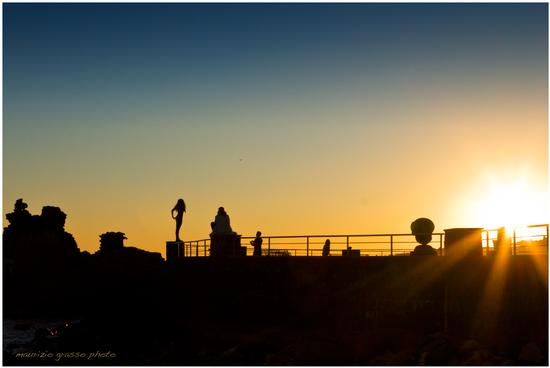 Posa...al tramonto - Aci trezza (2204 clic)