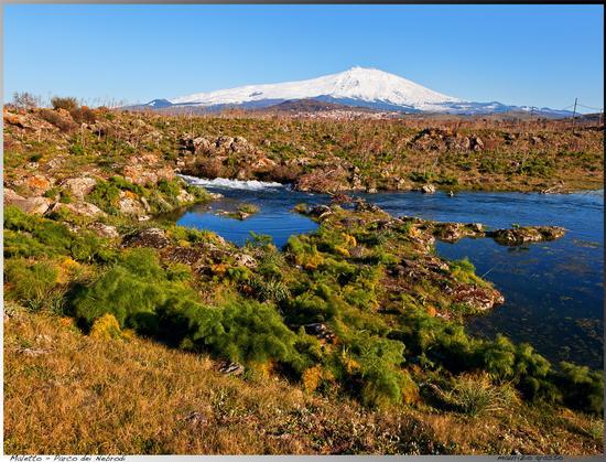 L'etna dal parco dei nebrodi - Maletto (3300 clic)
