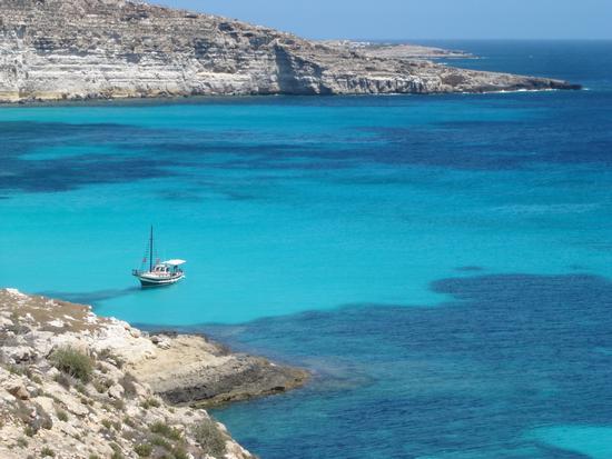 la baia della tabaccara - Lampedusa (5671 clic)