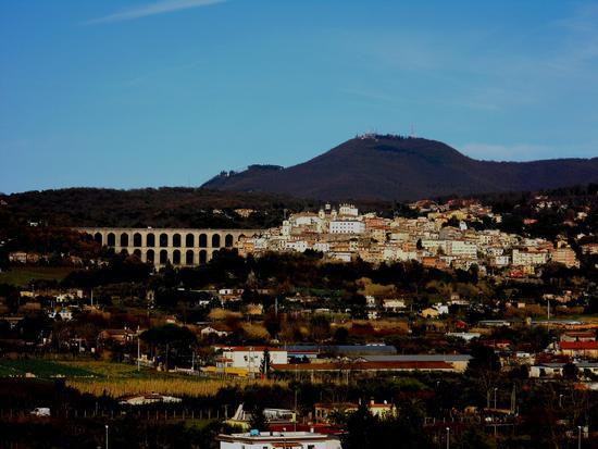 Lazio, Roma, Ariccia.Ariccia al tramonto in dicembre (3487 clic)