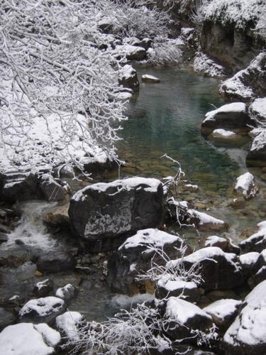 Rocchetta Nervina sotto la neve (2052 clic)