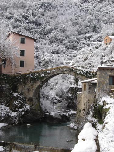 Ponte Vecchio con la neve - Rocchetta Nervina IM (3183 clic)