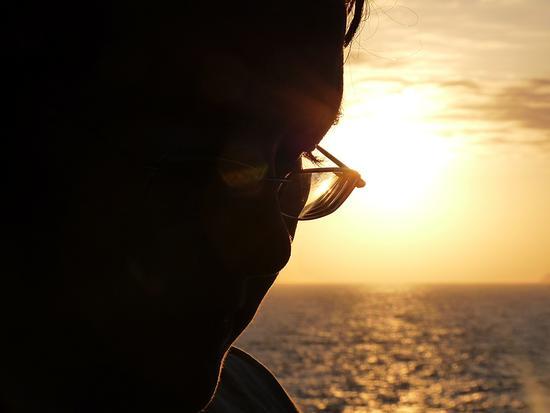 Pensieri al tramonto (449 clic)