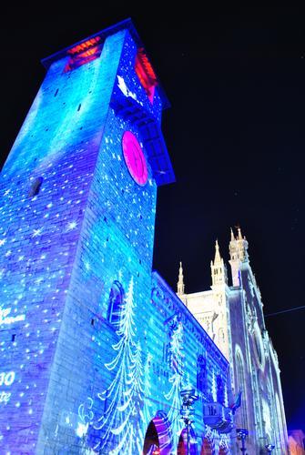 Duomo Natale 2011 - Como (1790 clic)