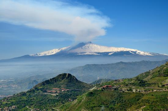 Etna, un giorno qualunque... - Castelmola (2436 clic)