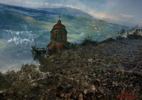 acqua e terra, cielo e .... - VICO EQUENSE - inserita il 15-Jan-11