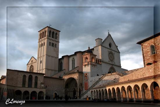 Basilica San Francesco. - ASSISI - inserita il 18-Jan-11